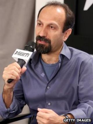 Iranian director Asghar Farhadi speaks at the 2013 Toronto International Film Festival on 9 September 2013