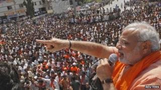 File photo of Narendra Modi (12 July 2013)