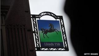 Lloyds sign