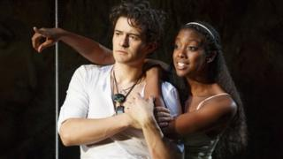 Orlando Bloom and Condola Rashad