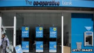 A branch of the Co-Co-operative bank