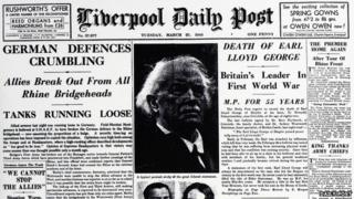 Lloyd George's death
