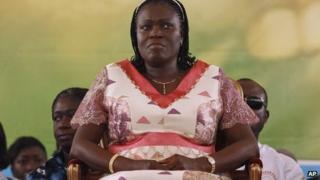 File photo of Simone Gbagbo