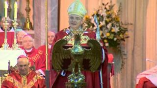 Archbishop Cushley was appointed by Pope Francis in July