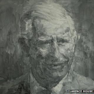 Yan Pei-Ming's Portrait of the Prince of Wales
