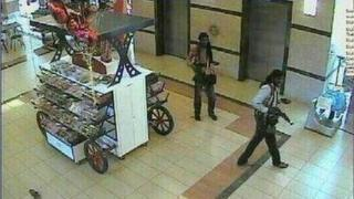 Image purporting to show militants in Nairobi's Westgate shopping centre