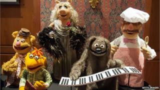 Fozzie Bear, Scooter, Miss Piggy, Rowlf and Swedish Chef