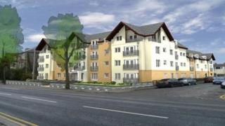 Artist's impression of Bronte House in Cardiff
