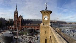View from the roof of King's Cross