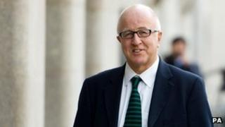 Denis MacShane outside the Crown Court on Friday