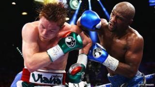 Floyd Mayweather vs Saul Alvarez