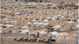 Kawergost refugee camp in Irbil, Iraq, 22 September 2013
