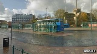 Blackburn's current boulevard bus station