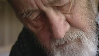 Alan Sillitoe before his death in 2010