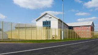 Artist's impression of the super prison