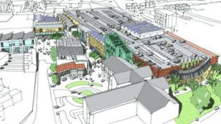 Artist's impression of new-look centre