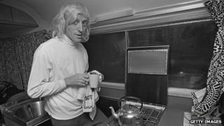 Jimmy Savile, photographed in 1969.