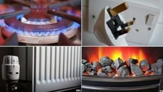 Gas ring, plug socket, radiator, electric fire