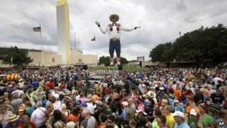 Big Tex at the Texas State Fair