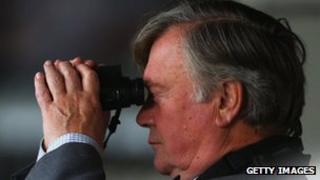 Ken Clarke watching cricket (file pic)