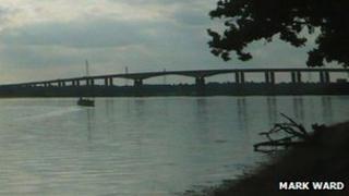 Orwell Bridge, Ipswich