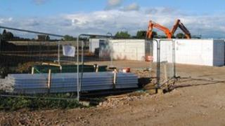 Longford Park construction