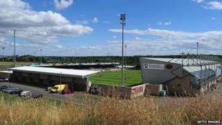 Sixfields stadium, Northampton