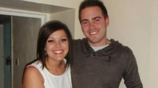 Dominic Loftus and his sister Chloe