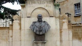 Bust of King Henry VII by Sir George Frampton