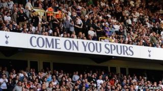 Spurs fans