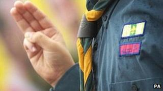 Scout in uniform