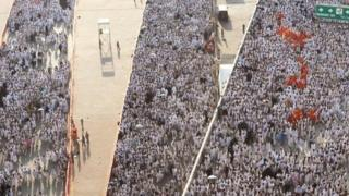 Crowds at the Hajj