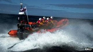 Red Bay lifeboat