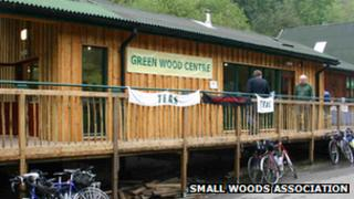 Green Wood Centre in Coalbrookdale