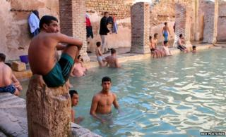 Bath at Khenchela
