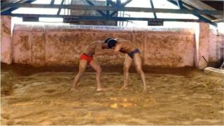 Kushti wrestling is a rigorous discipline that has produced a stalwart of athletes, the wrestlers belong to gyms or wrestling schools called akharas.