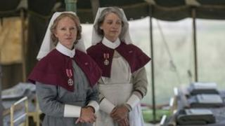 Hermione Norris and Kerry Fox in The Ark