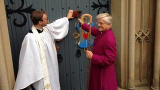 Bishop of Blackburn, the Right Reverend Julian Henderson