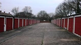 Council garages, Harlow