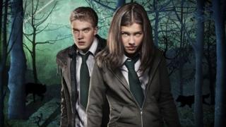 Bobby and Aimee from Wolfblood
