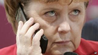 Angela Merkel (file picture)