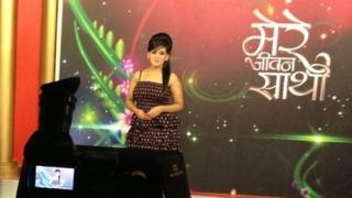 A presenter on India's first matrimonial television channel