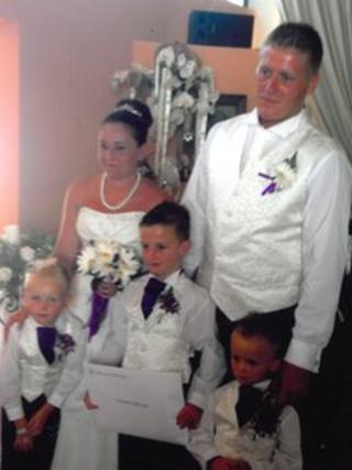 Simon Hannigan and family