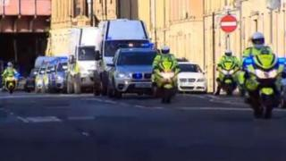 Terror suspects head to court