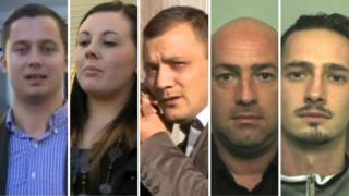 Mate Puskas, Victoria Brown, Zoltan Mohacsi and Istvan and Peter Toth