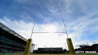 Sixways rugby ground Worcester