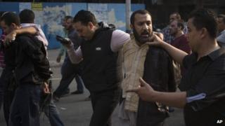 Muslim Brotherhood supporter is arrested (file photo)