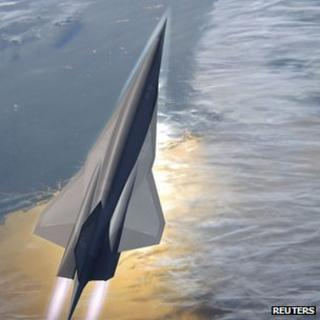 Artist's rendering of SR-72