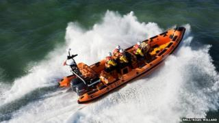 Atlantic 85 lifeboat
