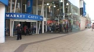 Market Gates shopping centre in Great Yarmouth